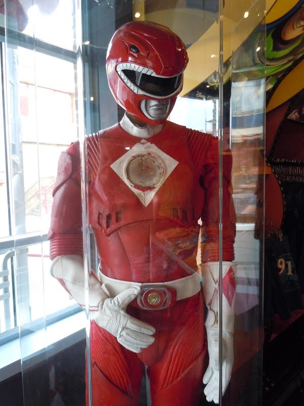 Power Rangers Rocky red movie costume
