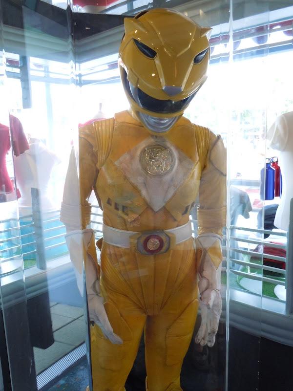 Power Rangers Aisha yellow movie costume