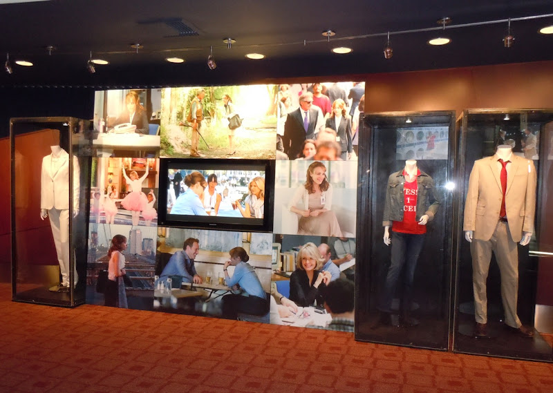 Morning Glory movie costume display