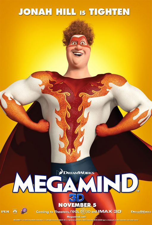 Megamind Tighten poster