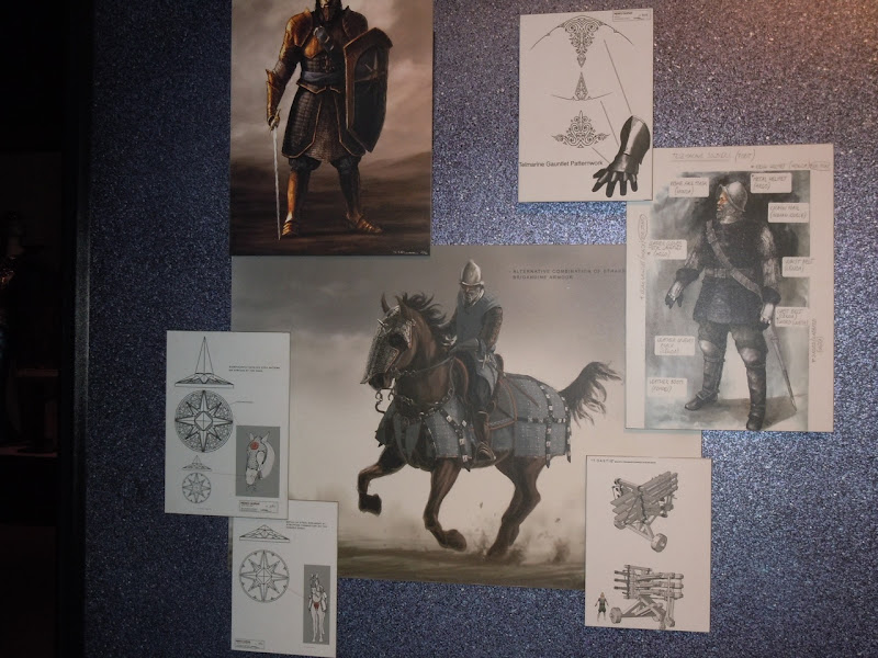 Narnia Telmarine Lord concept artwork