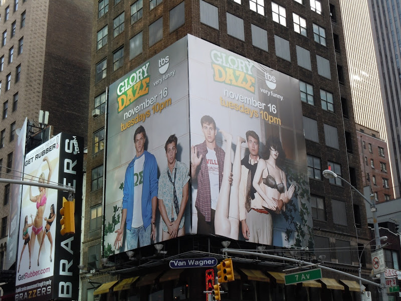 Glory Daze TV bilboard