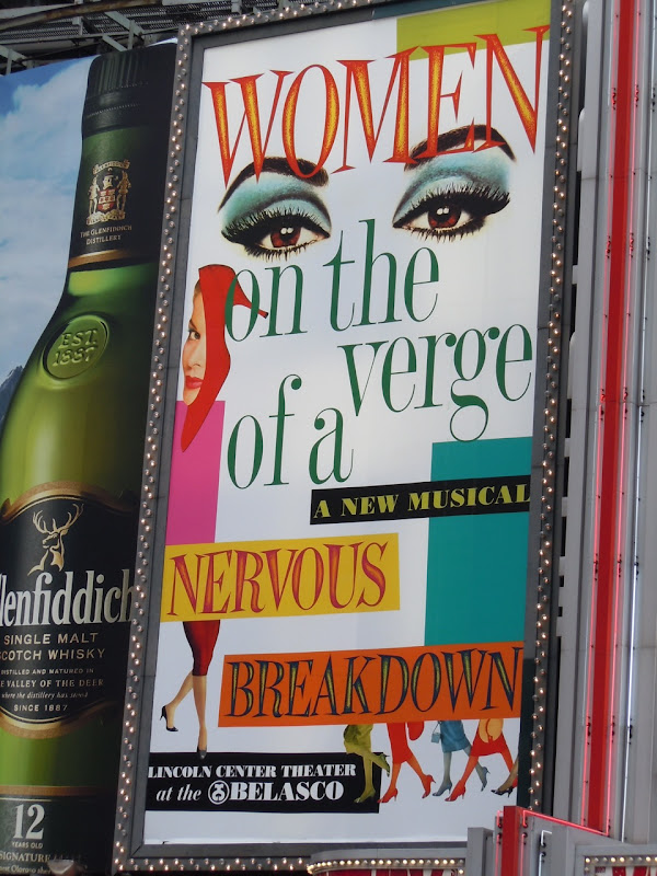 Women on the verge billboard