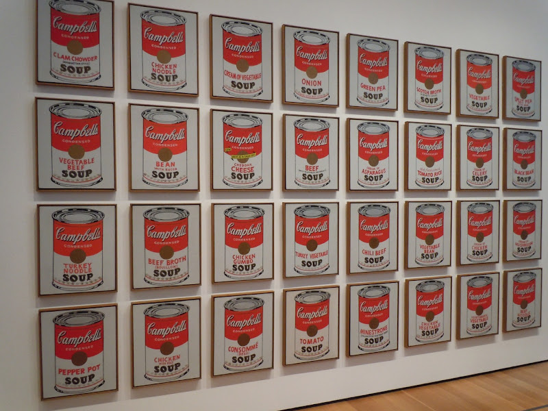Campbell's Soup Cans Andy Warhols
