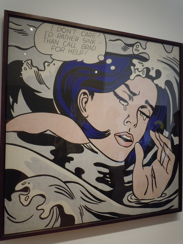 Drowning Girl Roy Lichtenstein