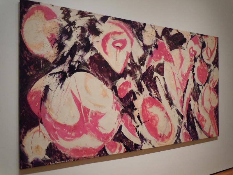 Gaea canvas Lee Krasner