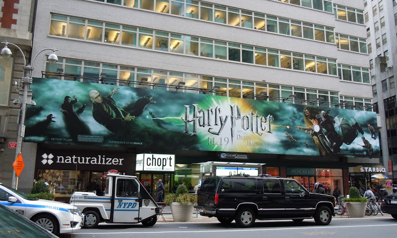 Harry Potter 7 NYC movie billboard