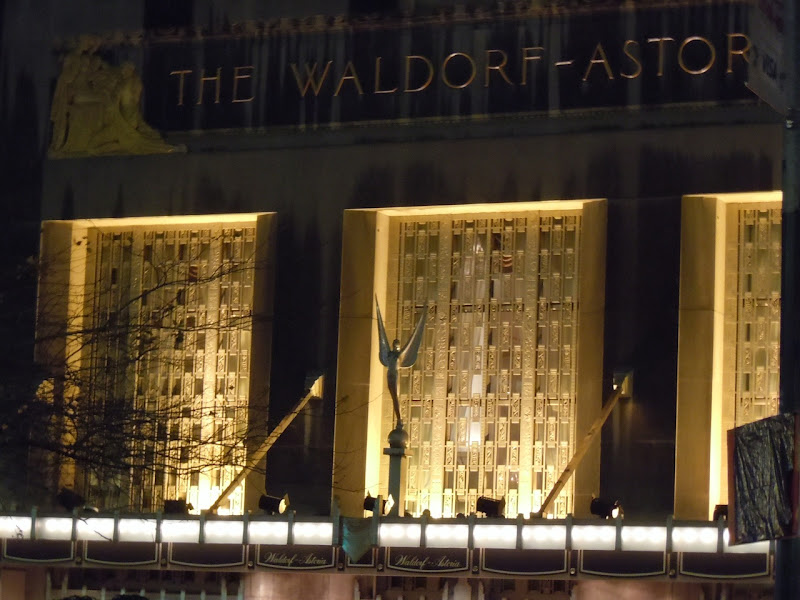 Waldorf-Astoria Spirit of Achievement sculpture
