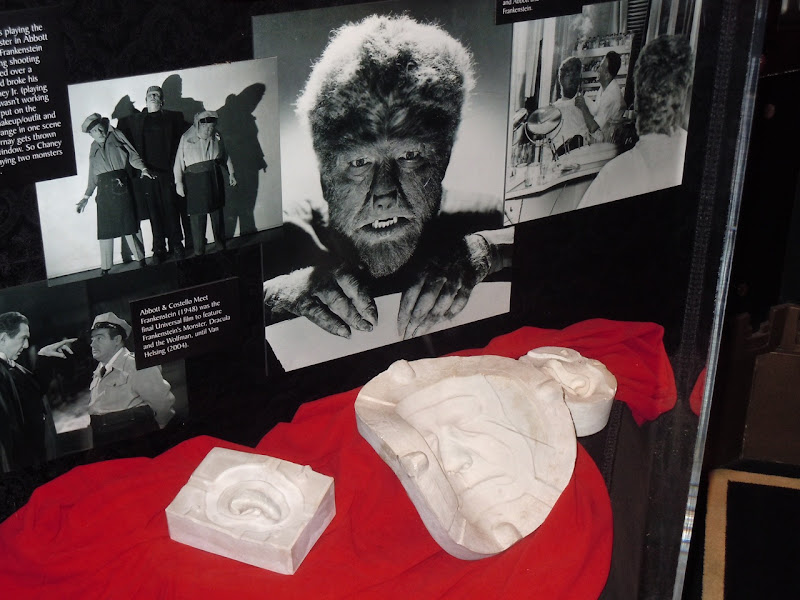 Lon Chaney Jr Wolfman life cast