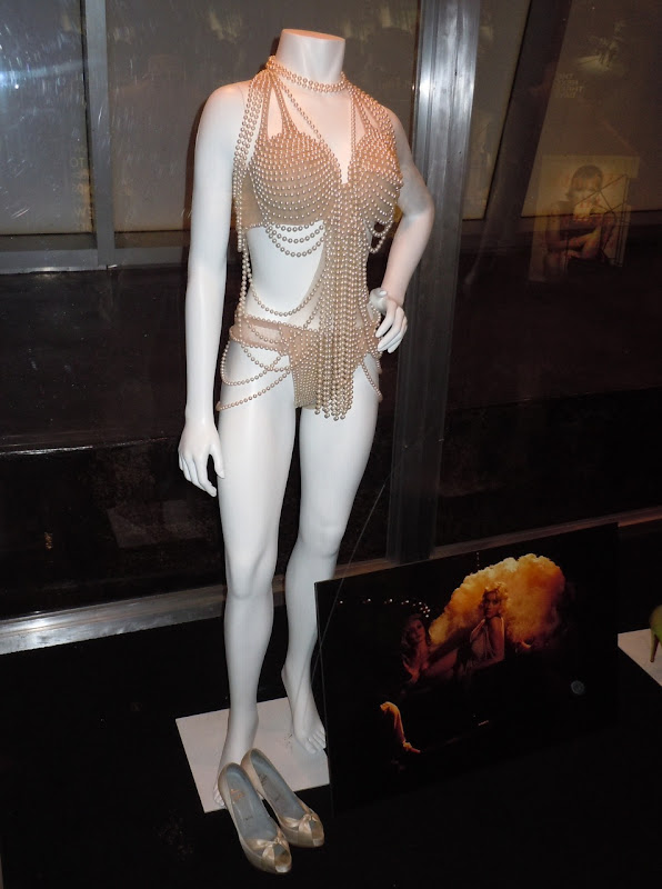 Christina Aguilera Burlesque pearl movie costume