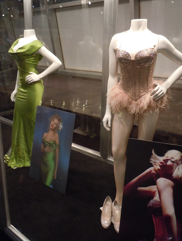 Burlesque Christina Aguilera costumes