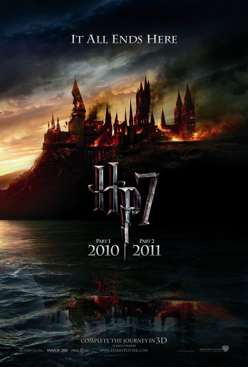 Hogwarts Harry Potter 7 poster