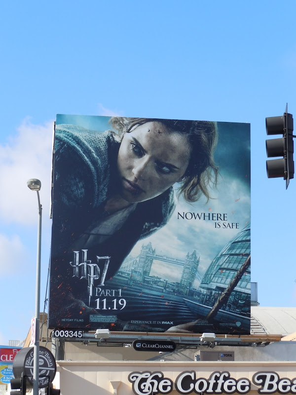 Hermione Harry Potter 7 billboard