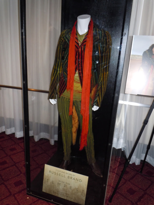 Russell Brand The Tempest movie costume