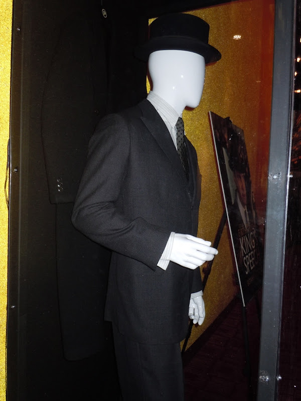 Colin Firth's The King's Speech movie costume