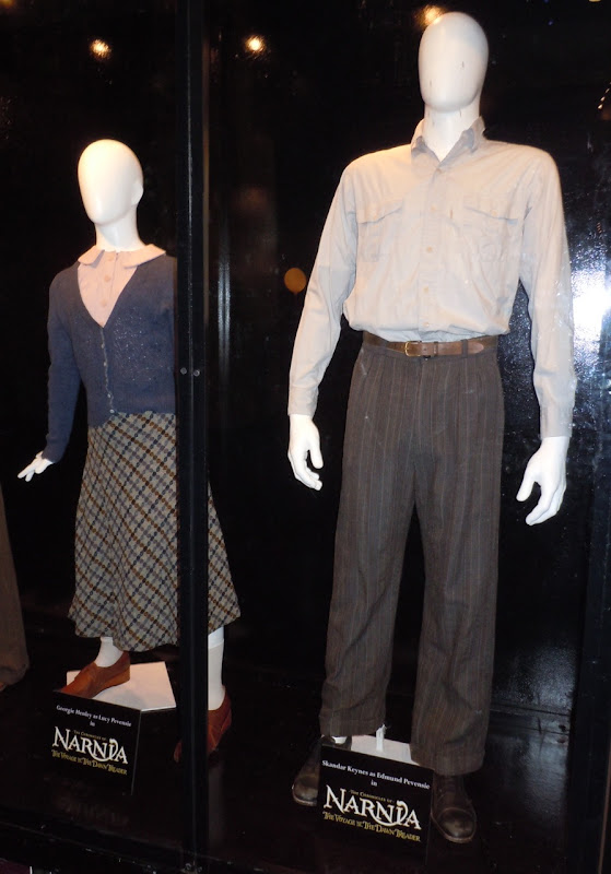 Narnia Dawn Treader Lucy and Edmund costumes
