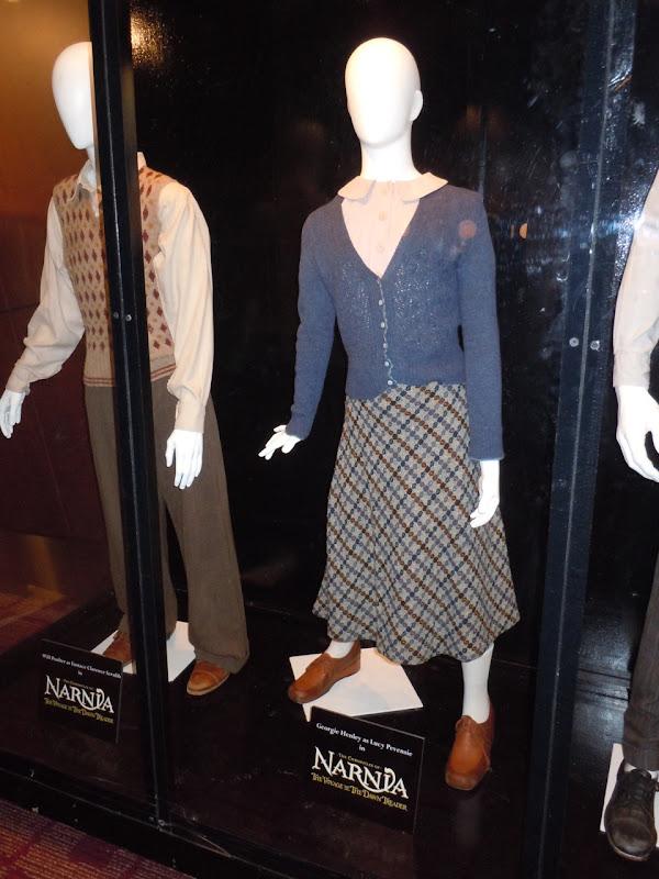 Narnia Dawn Treader Lucy movie costume