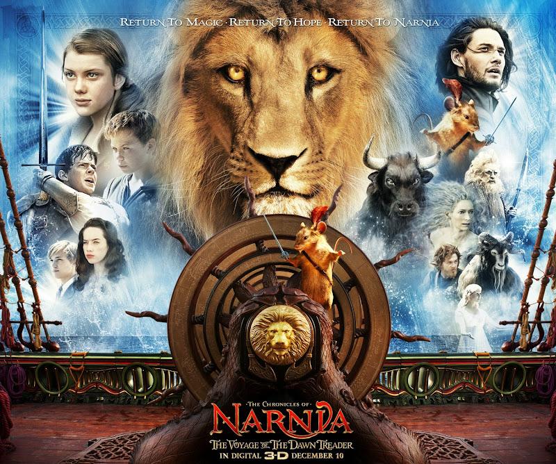 Narnia Dawn Treader movie poster