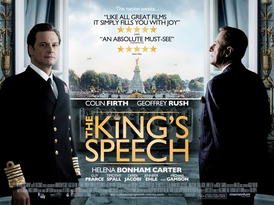 The King's Speech film poster