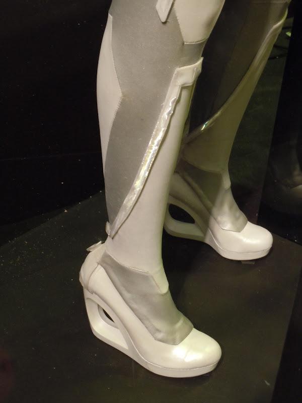 Siren shoe heel Tron Legacy costume