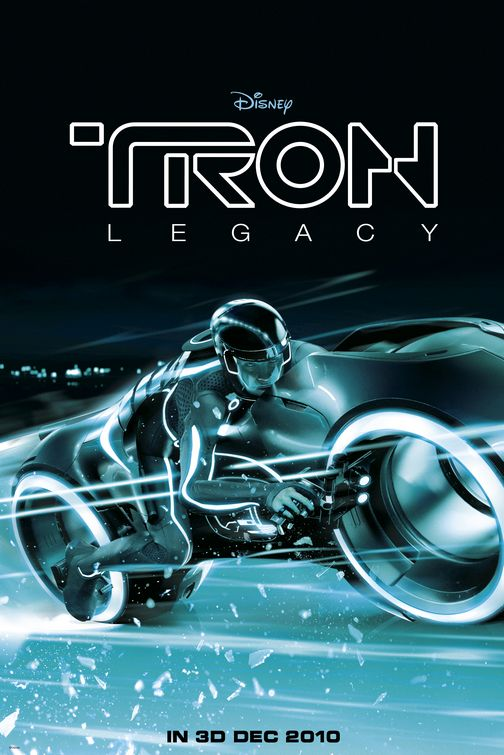 Tron Legacy Lightcycle poster