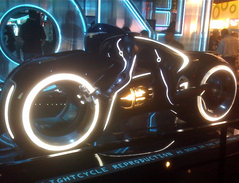 Lightcylce replica Tron Legacy