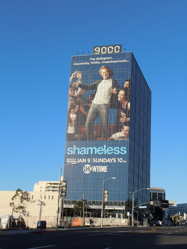 Shameless Sunset Strip TV billboard