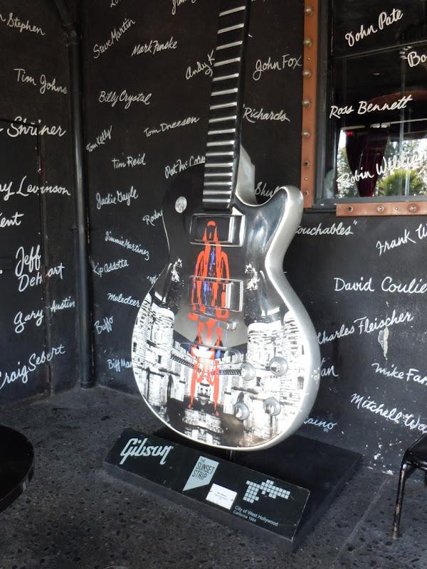 Nic Adams Prince of Darkness GuitarTown sculpture