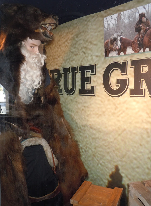 True Grit Ed Corbin Bear Man costume