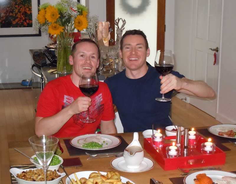 Christmas Day toast 2010