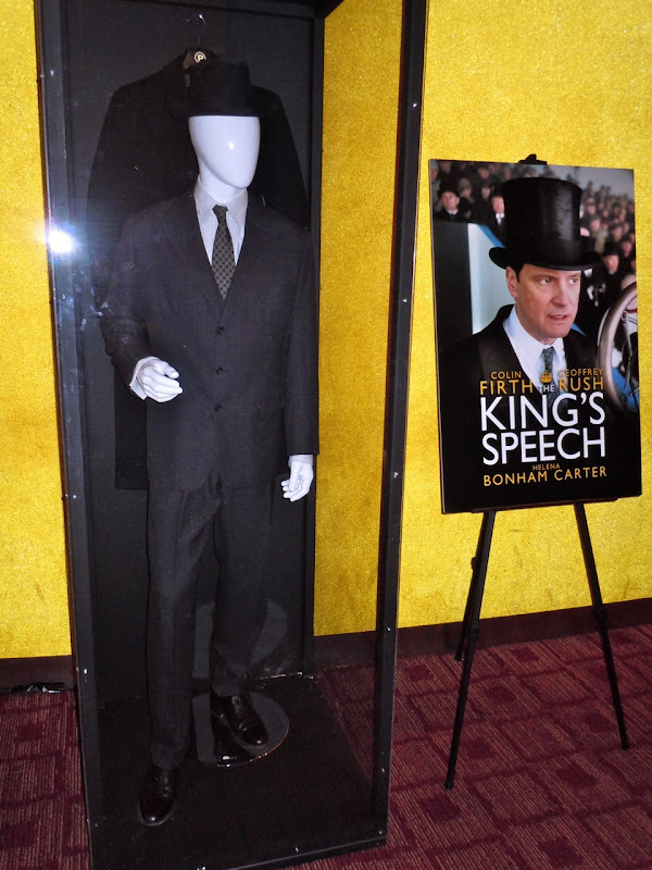 Colin Firth's Kings Speech costume