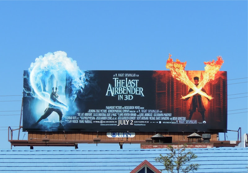 The Last Airbender movie billboard