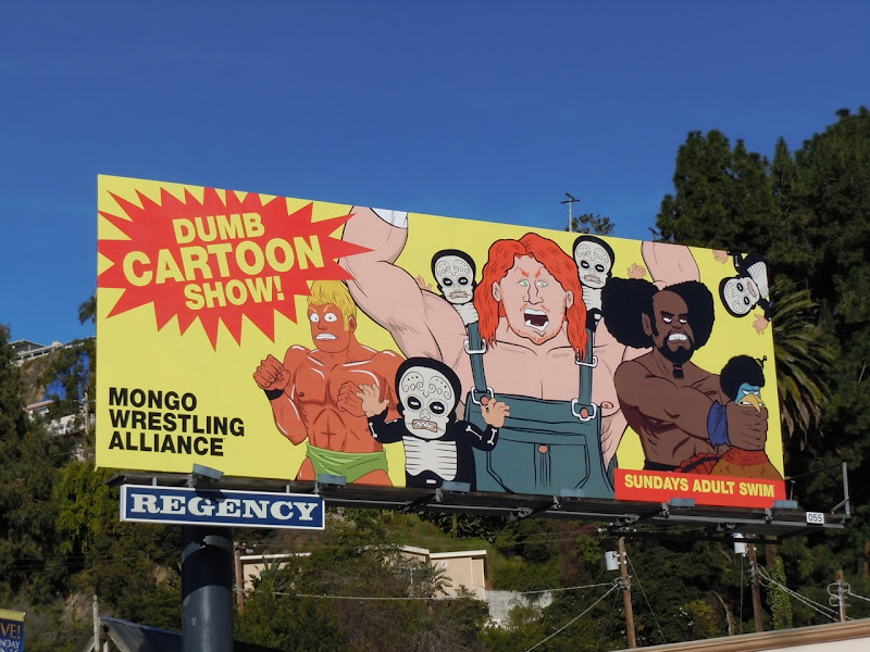 Dumb Cartoon Show TV billboard