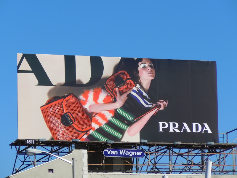 Prada Resort fashion 2011 billboard