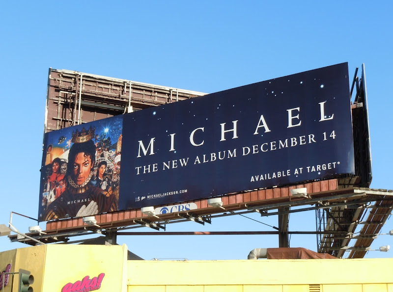 Michael Jackson music billboard