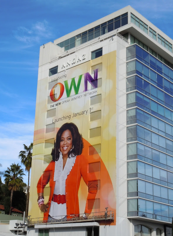Oprah OWN billboard