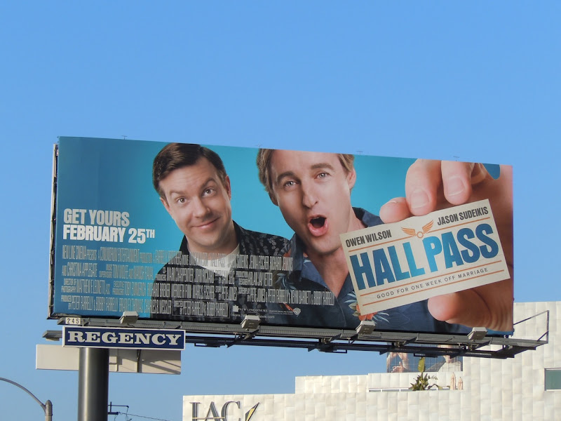 Hall Pass movie billboard