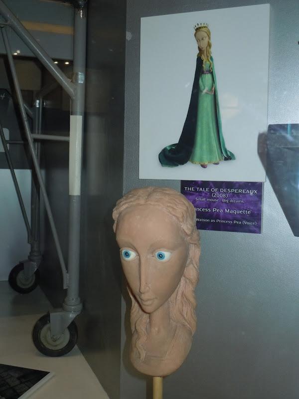 Princess Pea Despereaux maquette