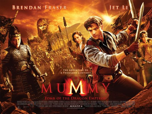 The Mummy 3 movie poster