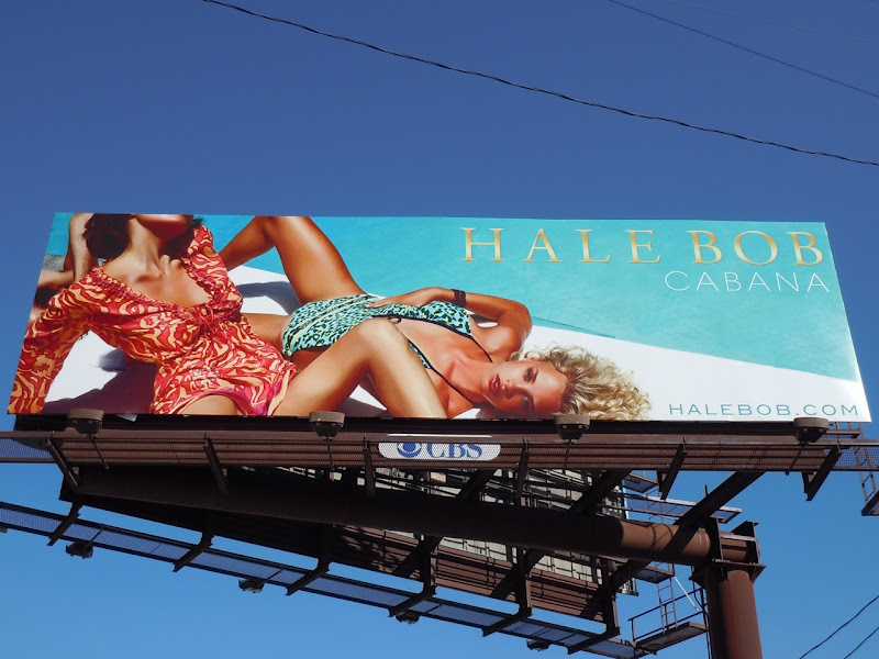 Hale Bob Cabana pool billboard