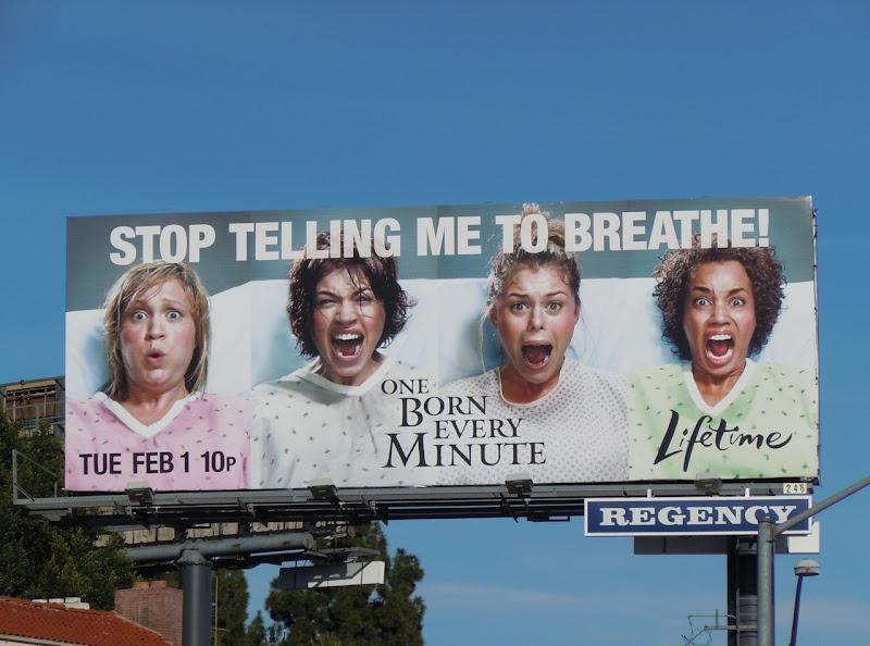 One Born Every Minute TV billboard