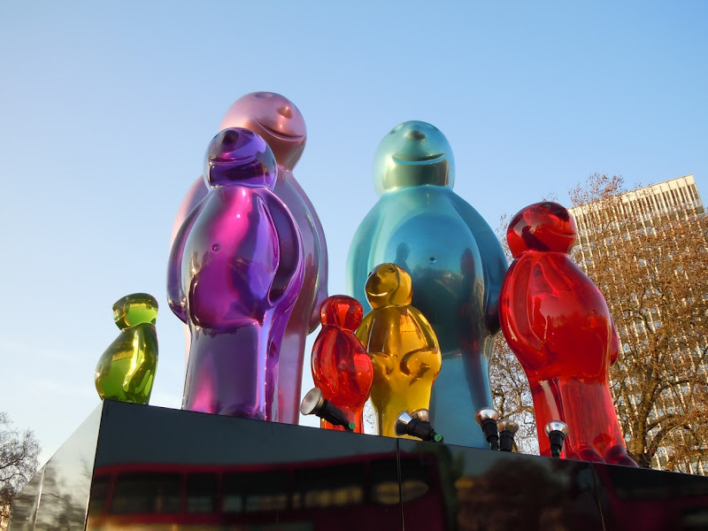 Jelly Baby Family Marble Arch