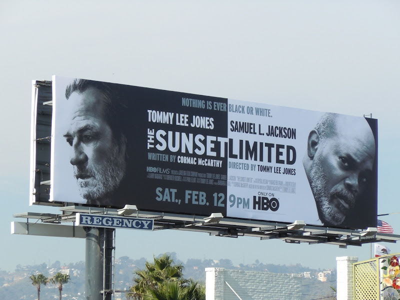 The Sunset Limited HBO billboard