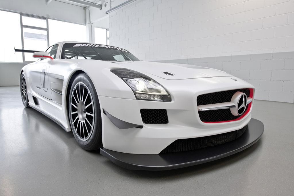 2011 Mercedes Sls Amg Gt3. 2011 Mercedes SLS AMG GT3