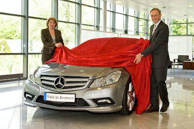 First Mercedes E-Class Coupe