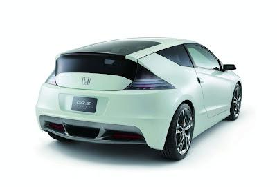 2010 Honda Revises CR-Z Concept