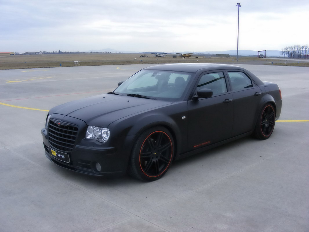 chrysler fan club tuning chrysler 300c hemi srt 8 matte black. Black Bedroom Furniture Sets. Home Design Ideas