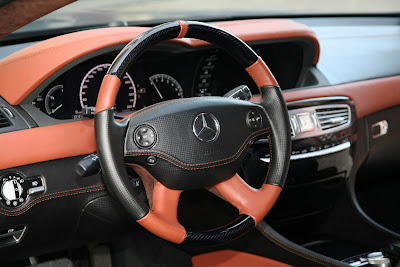 2010 Mercedes CL65 AMG ANDERSON Interior