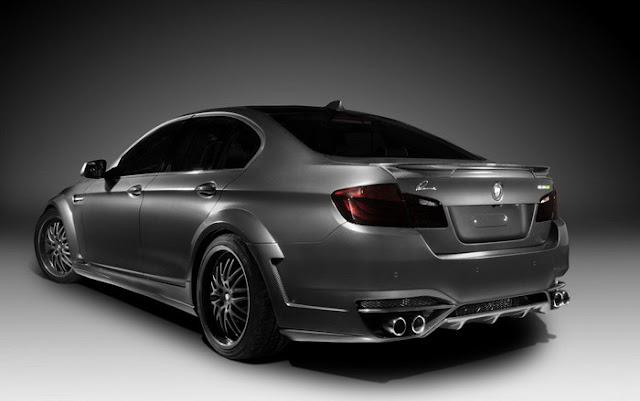 BMW 5-Series-Lumma Design side view