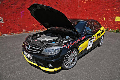2010 Wimmer RS Mercedes C63 AMG Dunlop